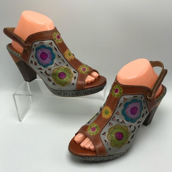 L/'Artiste by Spring Step Womens Belen Heeled Sandal